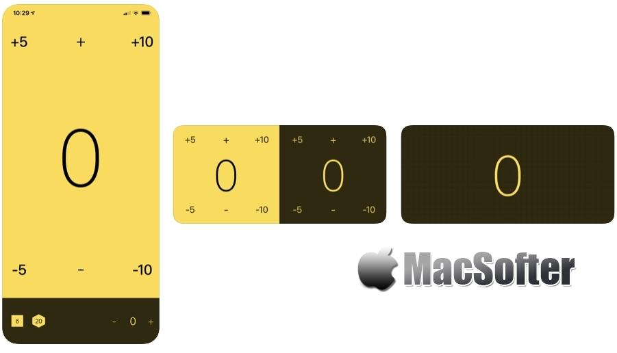 [iPhone/iPad限免] Tally :简单实用的计数器和骰子工具