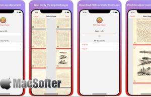 [iPhone/iPad限免] PDF Page Clipper : PDF文档页面剪辑工具