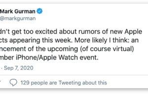彭博社:苹果最快本周发出秋季iPhone 12 发布会邀请函