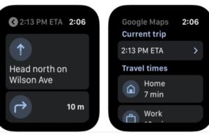 Google Maps时隔三年后回归:重新支持Apple Watch