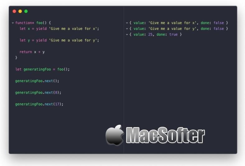 RunJS for Mac : JS代码管理工具
