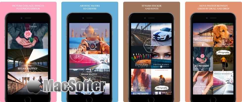 [iPhone/iPad限免] 创意拼贴 :照片拼贴工具