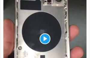疑似iPhone 12 Pro实物真机外壳视频曝光