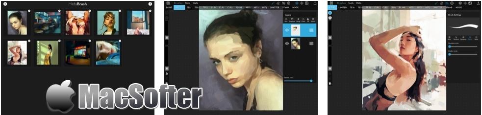 [iPad限免] MetaBrush :艺术笔刷照片后期处理软件