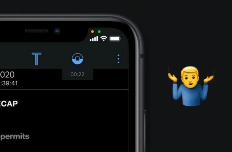 更新iOS 14后iPhone屏幕上的小绿点/橙点是什么意思