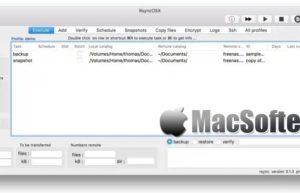 RsyncOSX for Mac :好用的可视化rsync同步备份工具
