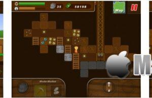 [iPhone/iPad限免] Treasure Miner :2D横版矿山冒险冒险游戏