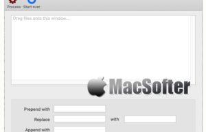 RenameFiles for Mac :文件批量重命名工具