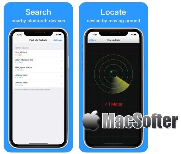 [iPhone/iPad限免] Find Bluetooth Headphones :寻找丢失了的蓝牙耳机