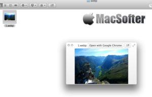 WebPQuickLook for Mac : 让Mac支持QuickLook一键快速预览WebP格式图片
