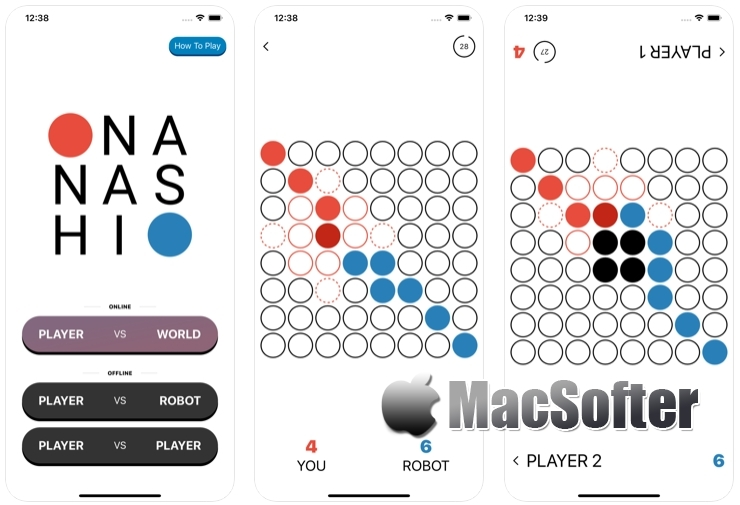 [iPhone/iPad限免] Nanashi : 策略棋盘游戏
