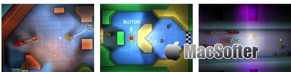 [iPhone/iPad限免] Tile Rider :磁铁小型工具车益智解谜游戏