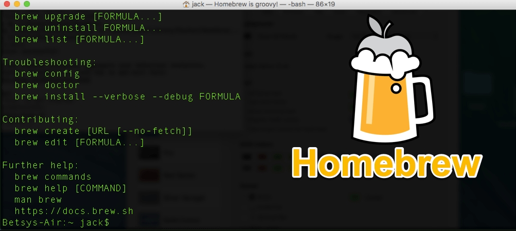 Homebrew for Mac :Mac软件安装与管理工具