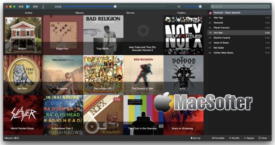Musique for Mac :简单好用的音乐播放器