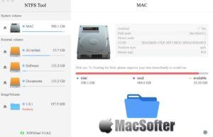 NTFS Tool for Mac :让Mac支持NTFS读写的工具
