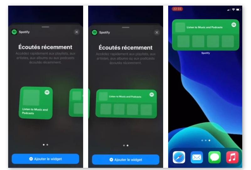 Spotify开发iPhone桌面小工具 :显示歌手/专辑/歌曲