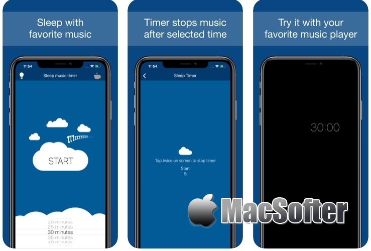 [iPhone/iPad限免] Sleep Music Timer :音乐定时播放工具