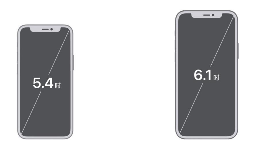 除了体积比较小iPhone 12 mini与iPhone 12还有什么差别
