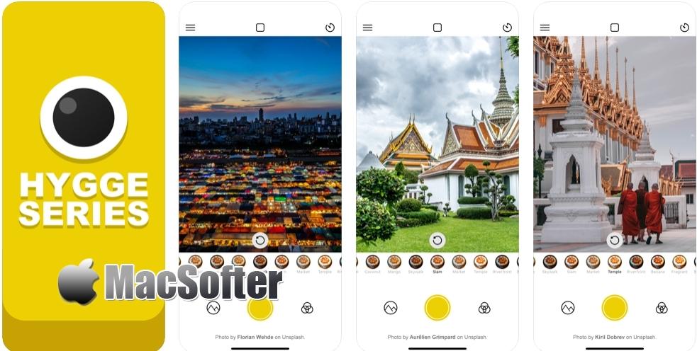 [iPhone/iPad限免] 治愈系相机|曼谷 - 泰式风格滤镜相机软件