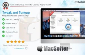 Tweak and Tuneup for Mac :系统优化清理工具