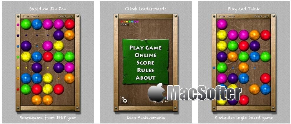 [iPhone/iPad限免] 7 Planets : 七彩益智球游戏