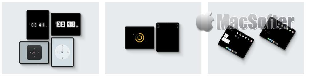 [iPhone/iPad限免] 桌面时钟(iClock):拟物和翻页时钟桌面小工具