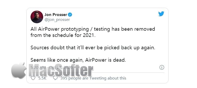 传AirPower项目已死:研发无限期延迟