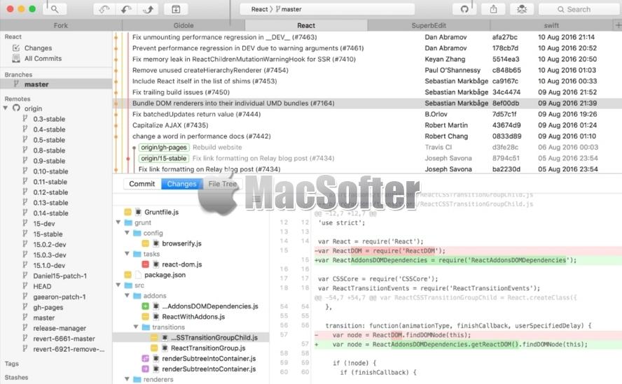 Fork for Mac :快速好用的Git客户端