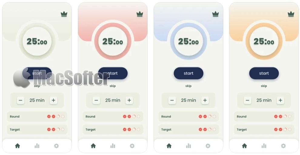 [iPhone/iPad限免] Focus Keeper° : 实用的番茄时钟软件
