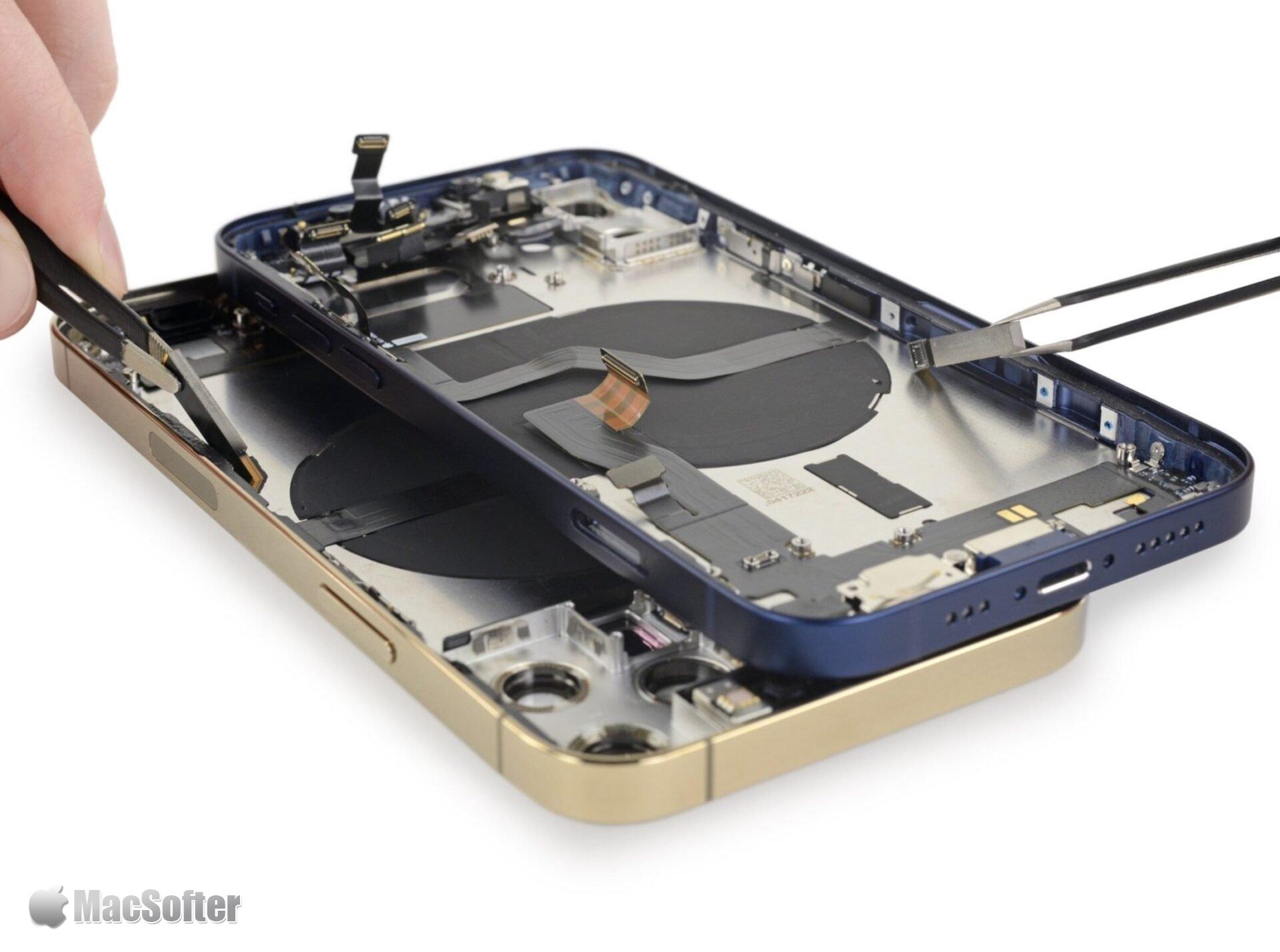 iFixit拆解iPhone 12/iPhone 12 Pro并用X光透视机内秘密