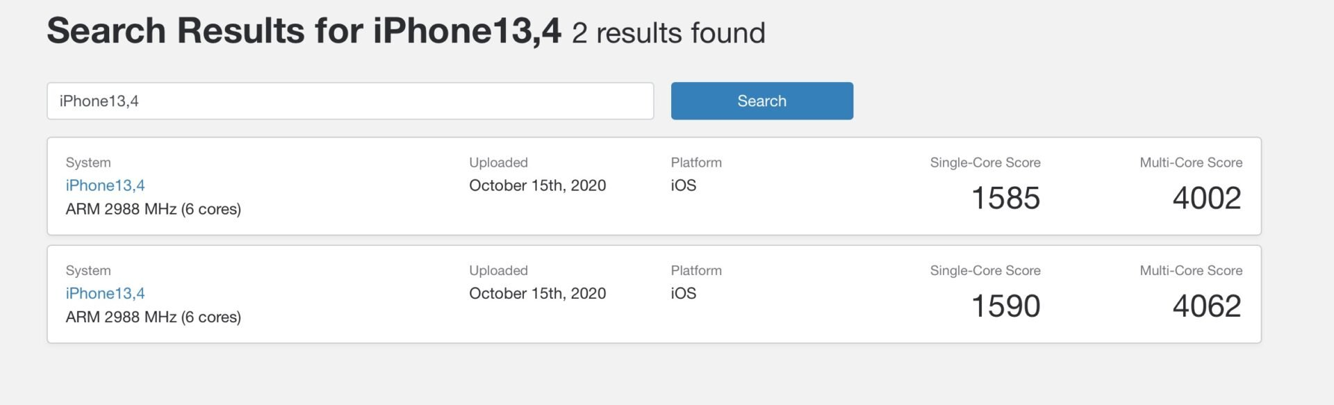 iPhone 12 Pro Max GeekBench跑分出炉