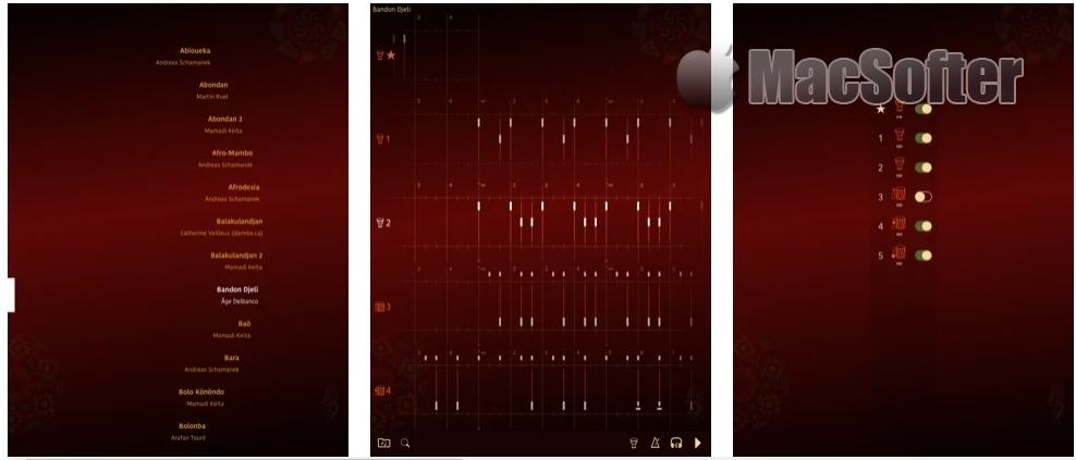 [iPhone/iPad限免] Piti Piti Pa(金贝鼓工作室) : 非洲鼓节奏音效软件