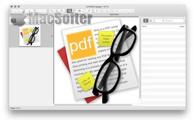 Skim for Mac :PDF阅读以及PDF标注工具