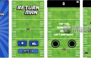 [iPhone限免] Return Man :复古耐玩的足球游戏