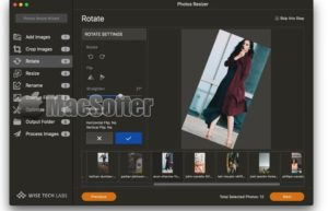 Photos Resizer for Mac : 图片尺寸批量调整工具