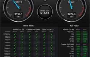 M1版MacBook Air的SSD固态硬盘速度是上一代机型两倍
