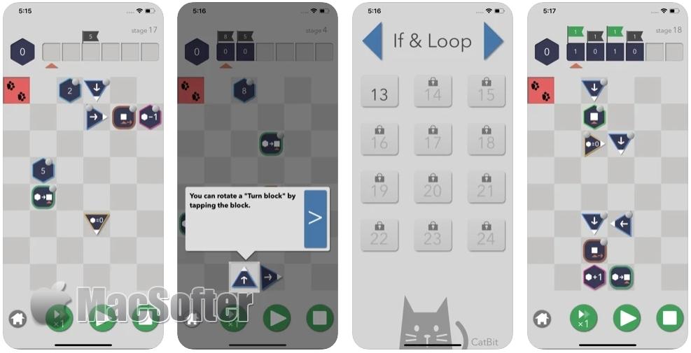 [iPhone/iPad限免] CatBit : 编程解谜游戏
