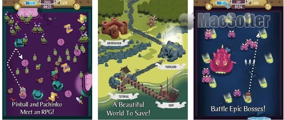 [iPhone/iPad限免] BlitzKeep :结合弹珠台与RPG的游戏