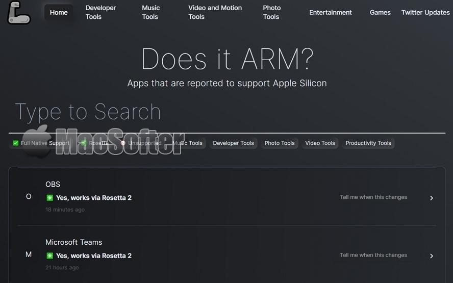 如何查询M1版Mac的软件和游戏兼容性?用这方法即可查询