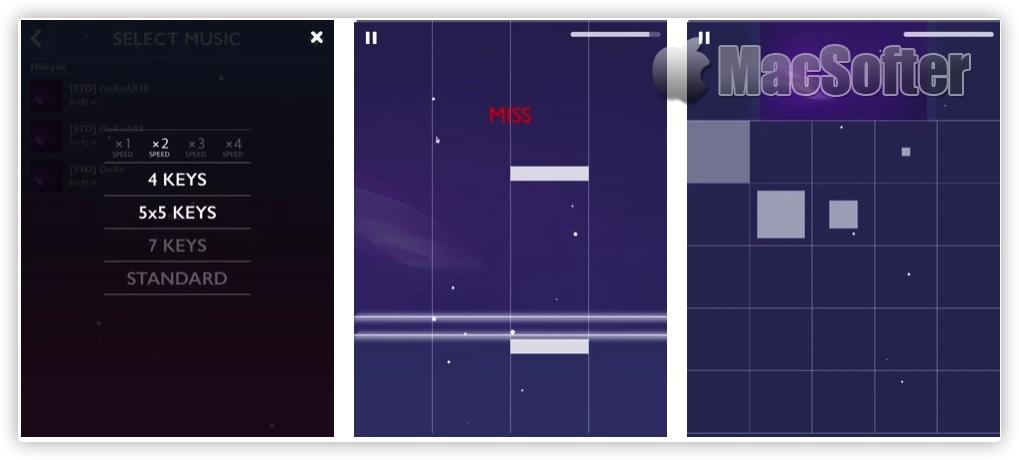 [iPhone/iPad限免] IOSU! : 音乐节奏游戏