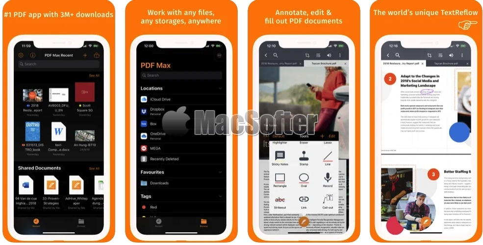 [iPhone/iPad限免] PDF Max Pro :全能PDF编辑处理工具