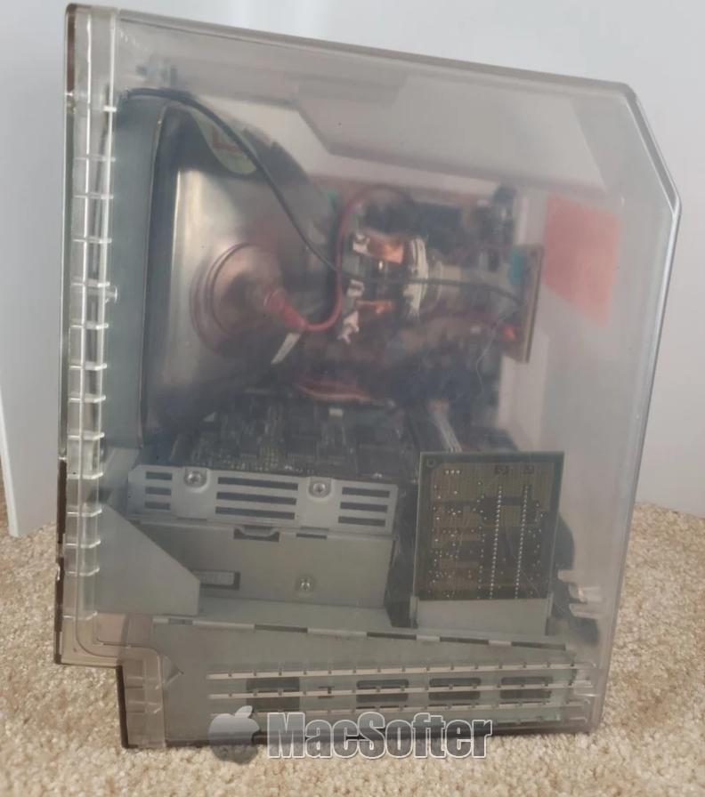 透明外壳Macintosh Classic原型机30年来首次曝光
