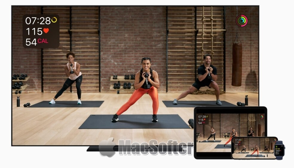 Apple Fitness+ 将于12月14日正式推出