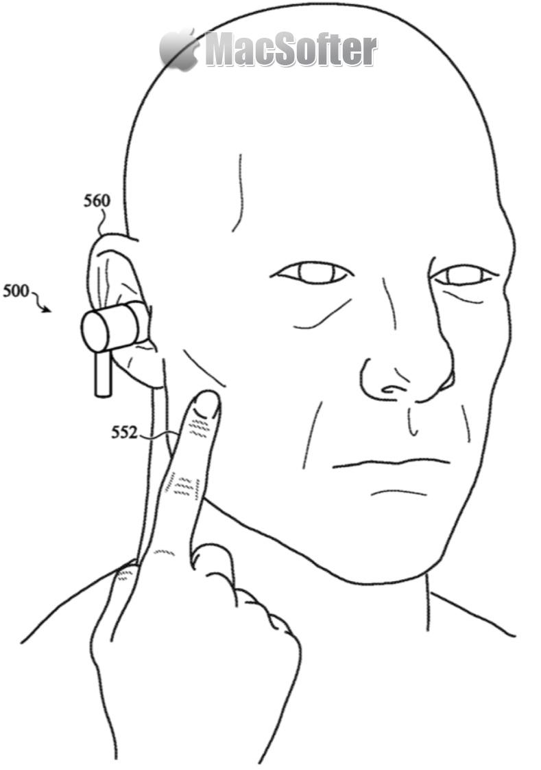 未来AirPods能使用全身控制:例如触摸脸部或点击牙齿