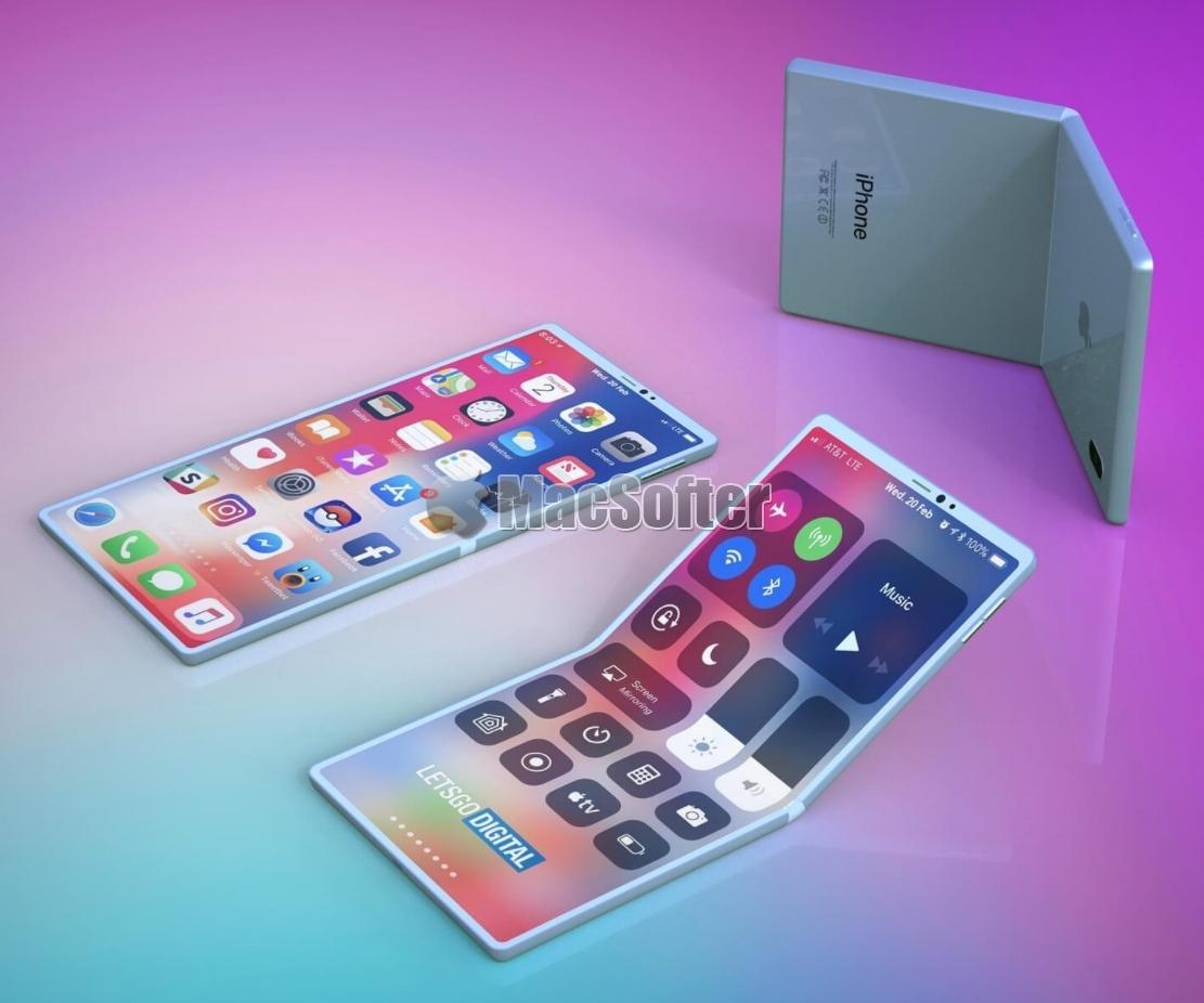 传苹果有两款折叠式iPhone已在测试