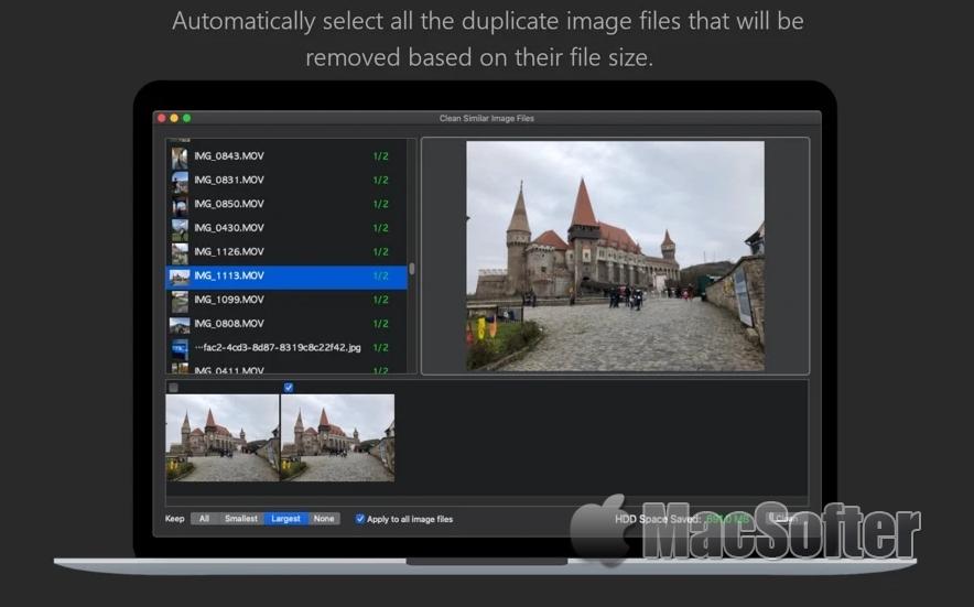 Image Cleaner for Mac : 重复照片查找及清理工具
