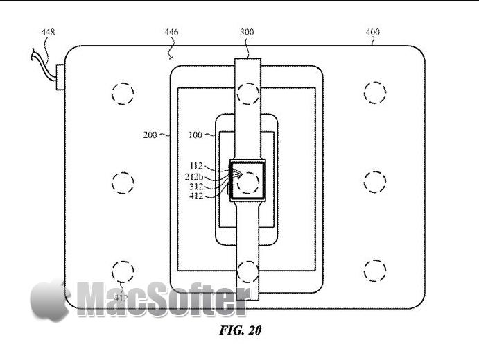苹果专利显示MacBook可设计为iPhone 产品无线充电