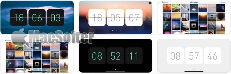 [iPhone限免] 此刻时钟 : 简约优雅的桌面时钟软件