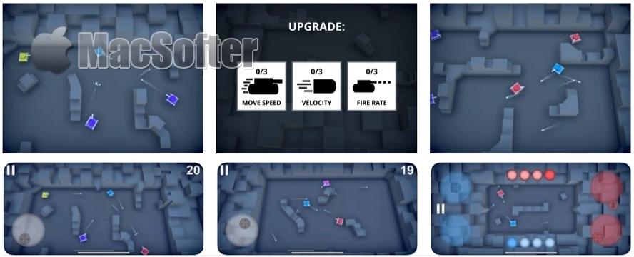[iPhone/iPad限免] Tiny Tanks! : 紧张刺激的坦克对战游戏