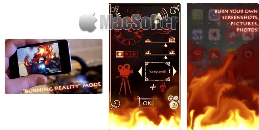 [iPhone/iPad限免] 火 ++ :让拍摄物体有着火效果的摄影软件